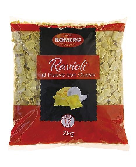 Romero, Ravioli Queso Granel - 4 bolsas de 2000 gr. (Total ...