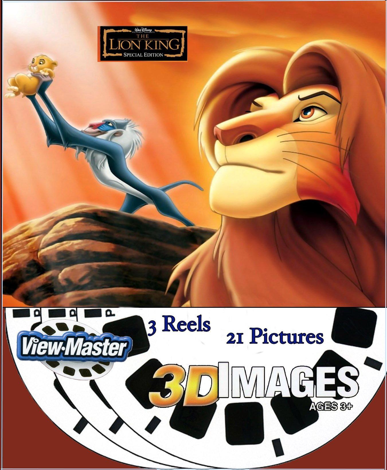 Disney LION KING - ViewMaster 3 Reel Set