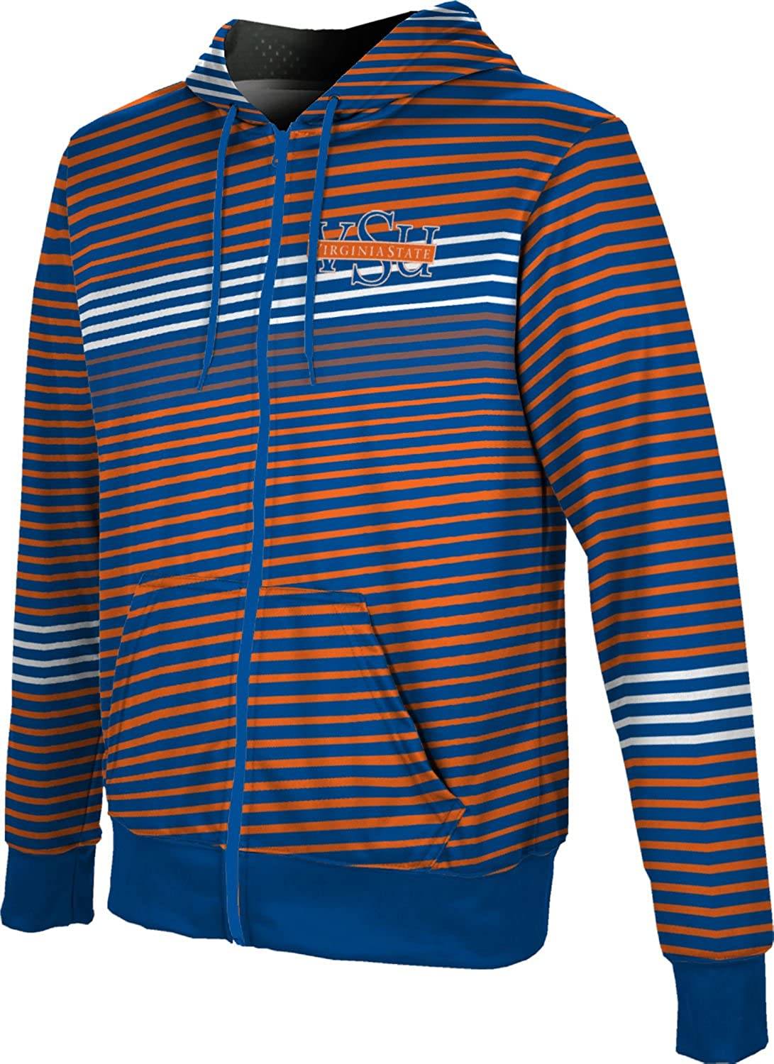 ProSphere Virginia State University Mens Full Zip Hoodie Vector