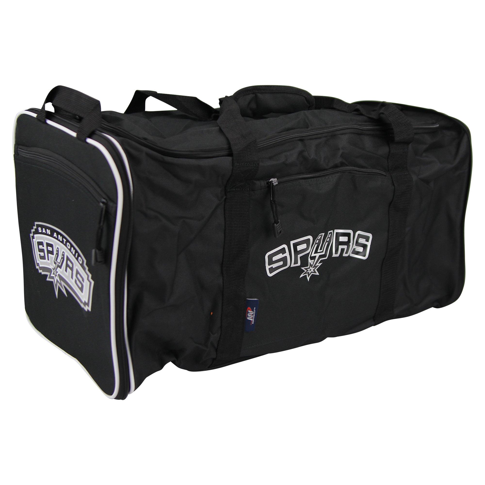 The Northwest Company NBA Team Logo Extended Duffle Bag (San Antonio Spurs)