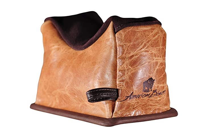 9. Benchmaster – American Bison Bags – Rifle Rests – Bench Rests – Shooting Accessories – Leather Shooting Bag