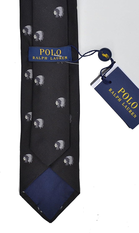 Ralph Lauren - Corbata - para hombre negro negro Talla única ...