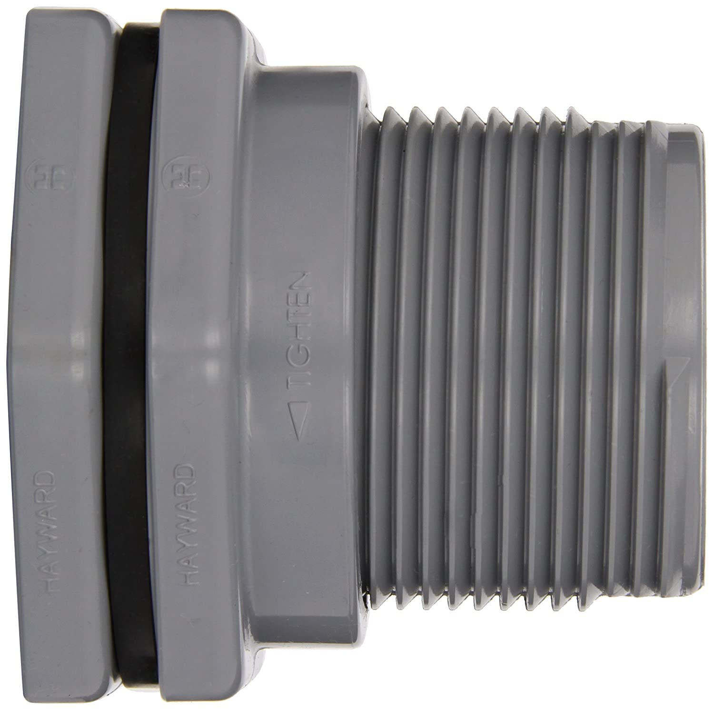 Socket x Threaded End 2 Size 2 Size Hayward Industries Inc. CPVC with EPDM Seals Hayward BFA2020CES Series BFA Standard Flange Bulkhead Fitting