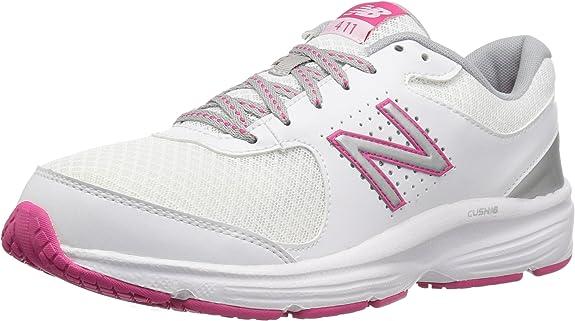New Balance 411 - Zapatillas de Running para Mujer, Color Blanco, Talla 35.5 EU: Amazon.es: Zapatos y complementos