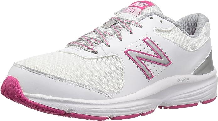 New Balance 411 - Zapatillas de Running para Mujer, Color Blanco ...