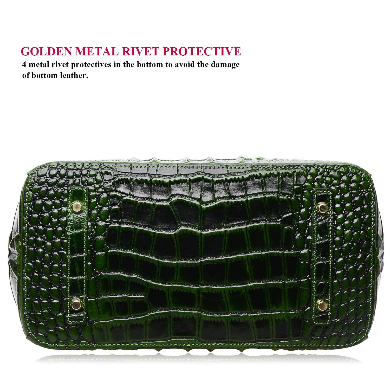 6d5fe2bd88a6 PIJUSHI Women s Handbags Crocodile Top Handle Satchel Bags Designer ...