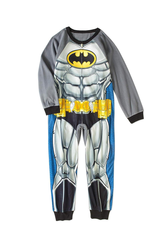 7bf51e51db Amazon.com  DC Comics Batman Little and Big Boys Sleeper Pajamas  Clothing