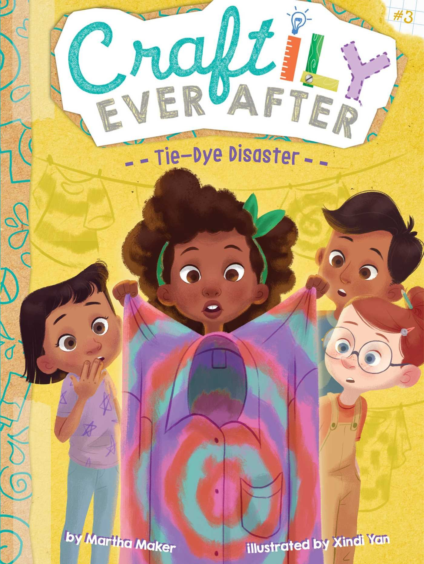 Tie-Dye Disaster (Craftily Ever After) pdf epub