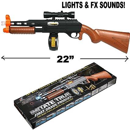 Amazon.com: Pistola de plástico de 20 pulgadas para máquina ...