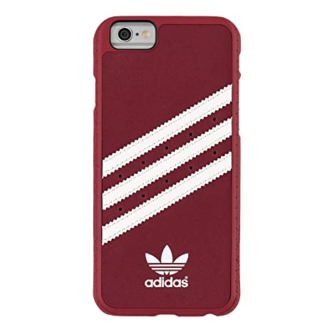 premium selection 970da 94177 adidas Moulded Case - Funda para móvil Apple iPhone 6, Color Rojo y Blanco