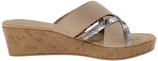 Amazon.com | Soft Style by Hush Puppies Women's Jessie Dress Sandal | Slides