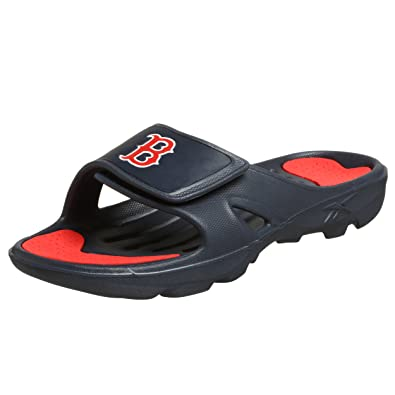 2a00abc8062a Amazon.com  Reebok Men s MLB Red Sox Z-Slide Sandal