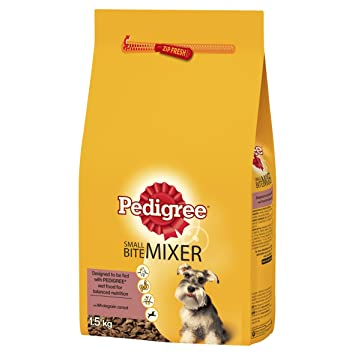 Pedigree Small Bite Mixer Original Dog Food 1 5 Kg Amazon Co Uk
