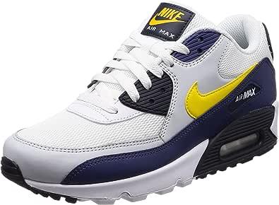 Nike Air MAX 90 Essential, Zapatillas para Hombre, Blanco (Weiß ...