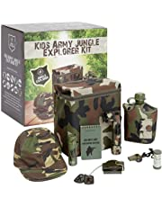Kids Army Jungle Explorer Kit Camouflage Military Roleplay