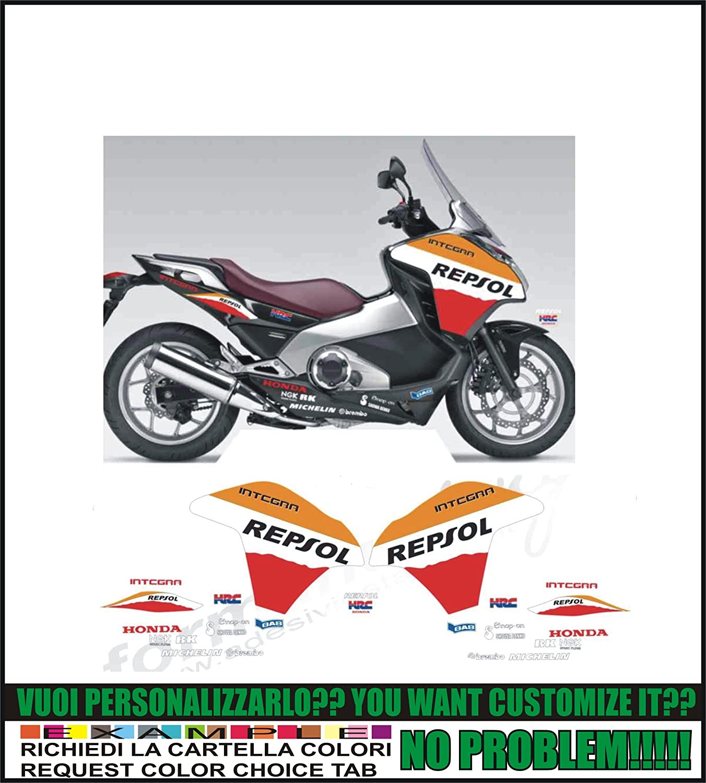 Kit adesivi decal stikers INTEGRA 700 2012-2013 R REPSOL