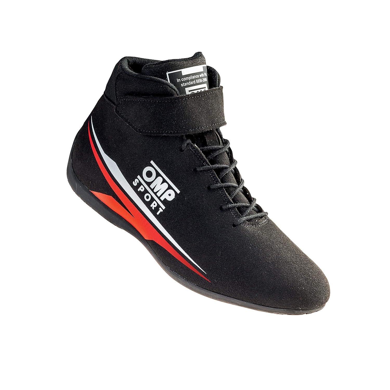 Size 41, Black OMP OS-50 FIA Racing Shoes IC//816