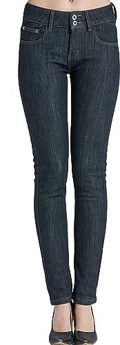 Image ofCamii Mia Pantalones Vaqueros Térmicos con Forro Polar de Invierno para Mujer