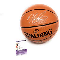 $169 » Kevin Durant New Jersey Nets Signed Autograph NBA Game Basketball JSA Certified