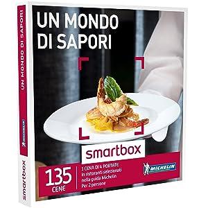Smartbox - Un Mondo Di Sapori - In Ristoranti Selezionati Nella Guida Michelin, Cofanetto Regalo, Gastronomia