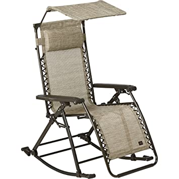 Medium image of bliss hammocks zero gravity rocker and recliner  sand