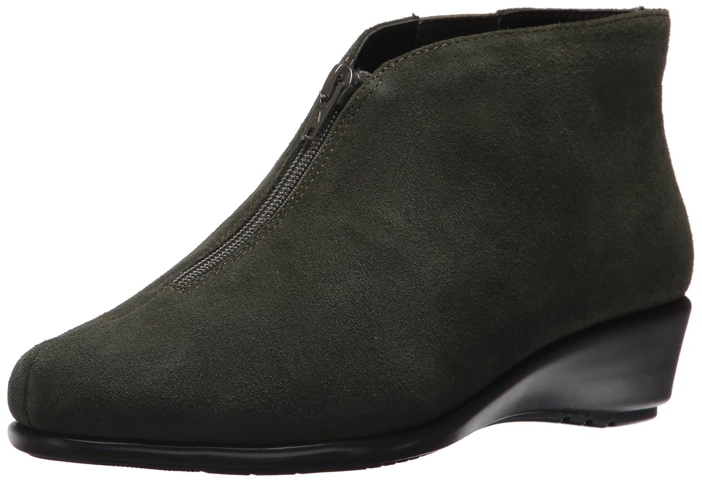 Aerosoles Women's Allowance Ankle Boot B06Y5VMMP9 9.5 B(M) US|Dark Green Suede
