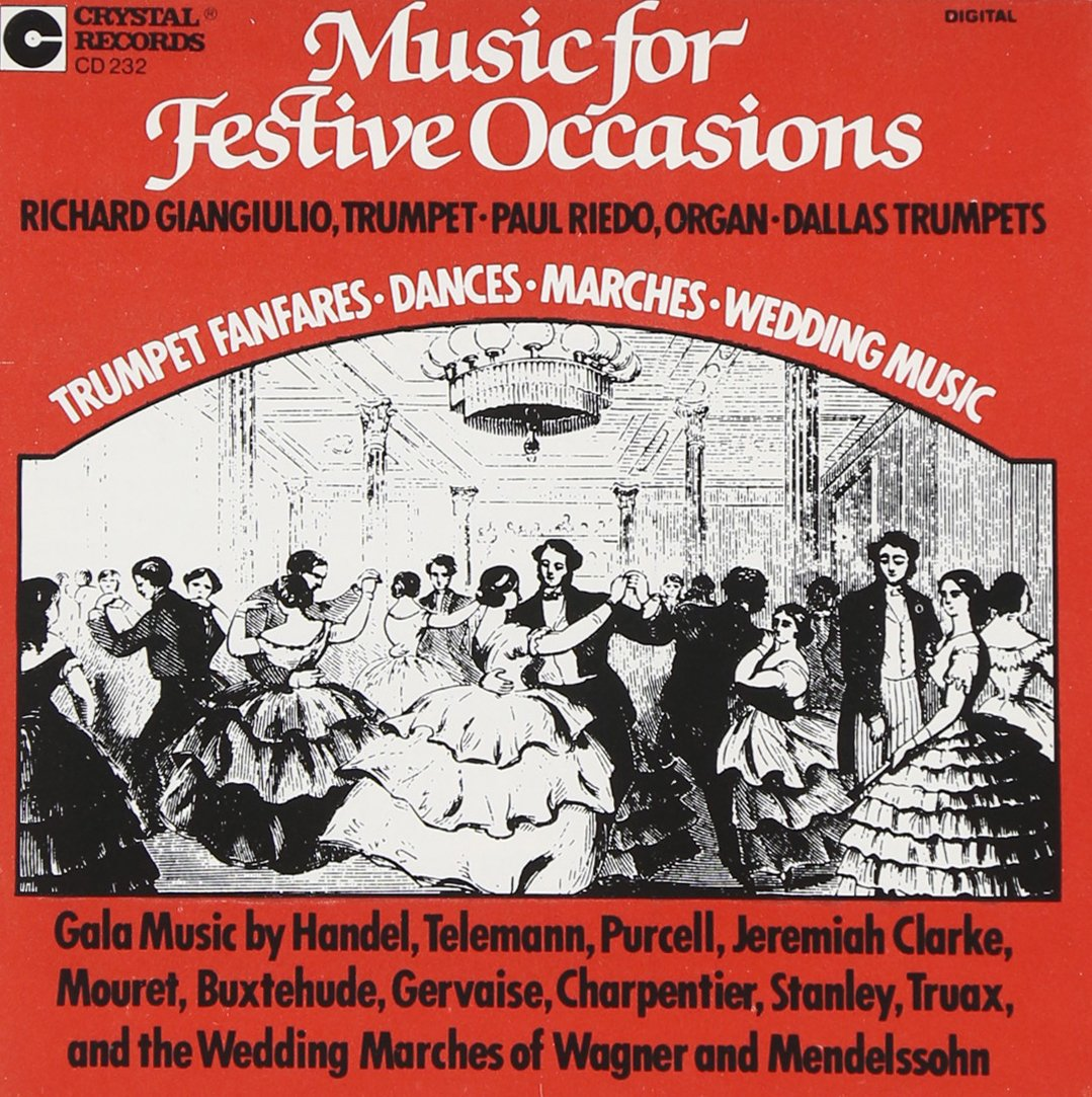 Music for Festive Occasions by Crystal Records