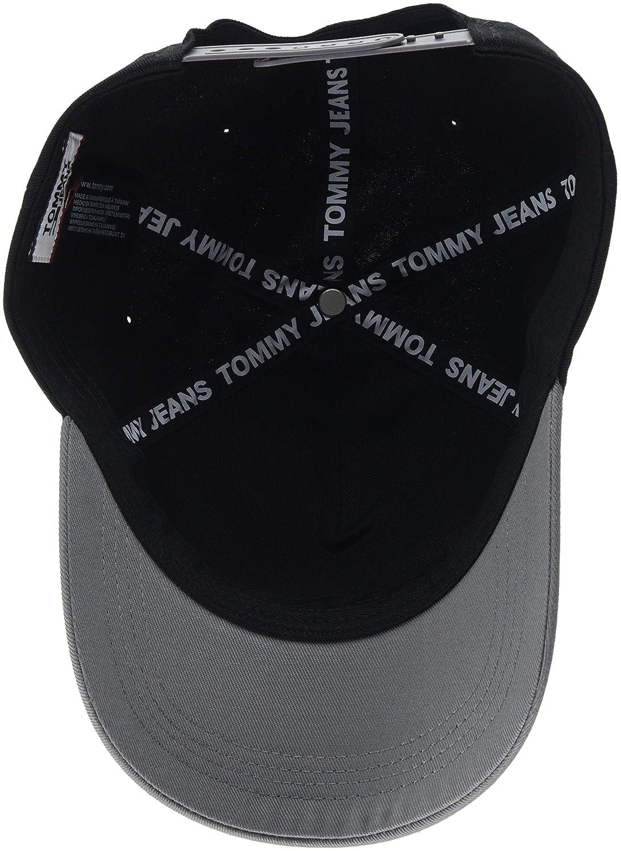 24488f62 Tommy Hilfiger Men's Tju Logo Baseball Cap, (Black Mix 902), One (Size:  OS): Amazon.co.uk: Clothing