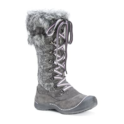 MUK LUKS Women s Gwen Boot Snow 436cedc6b