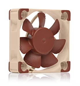 Noctua NF-A4x10 PWM, Premium Quiet Fan, 4-Pin (40x10mm, Brown)