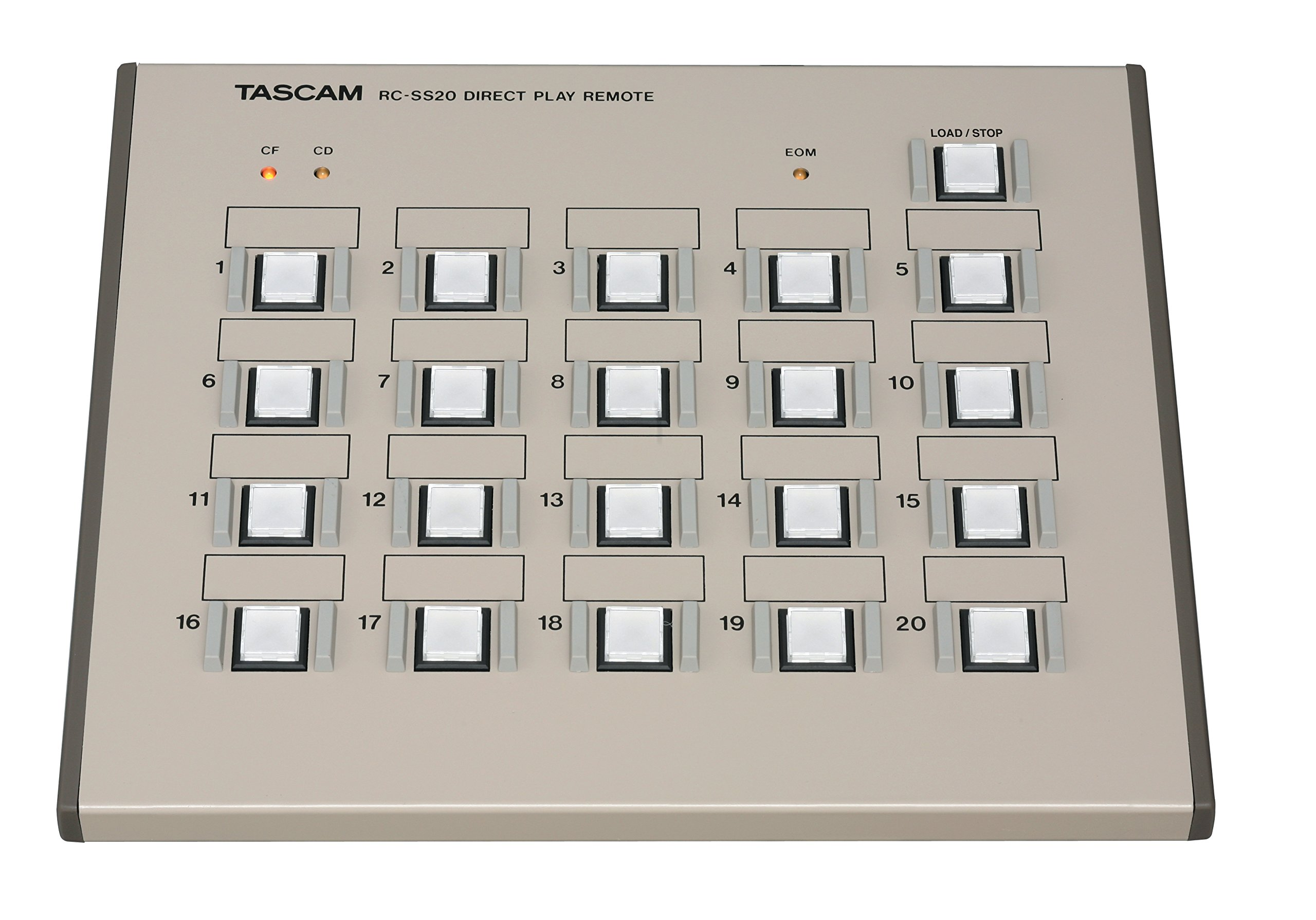 Tascam RC-SS20 Direct Play Remote for Solid State Recorders by Tascam (Image #2)