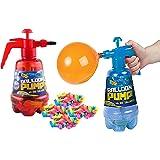 2 in 1 Air Water Bomb Balloon Pump Kids Party Outdoor Garden 300pc Balloons Set
