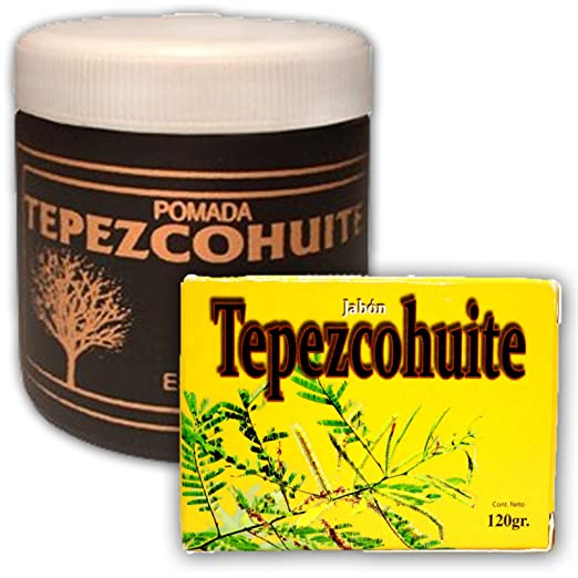 Tepezcohuite Ointment + Soap / Unguento Y Jabon Original De Chiapas Mex. by soap and Ointment tepezcohuite