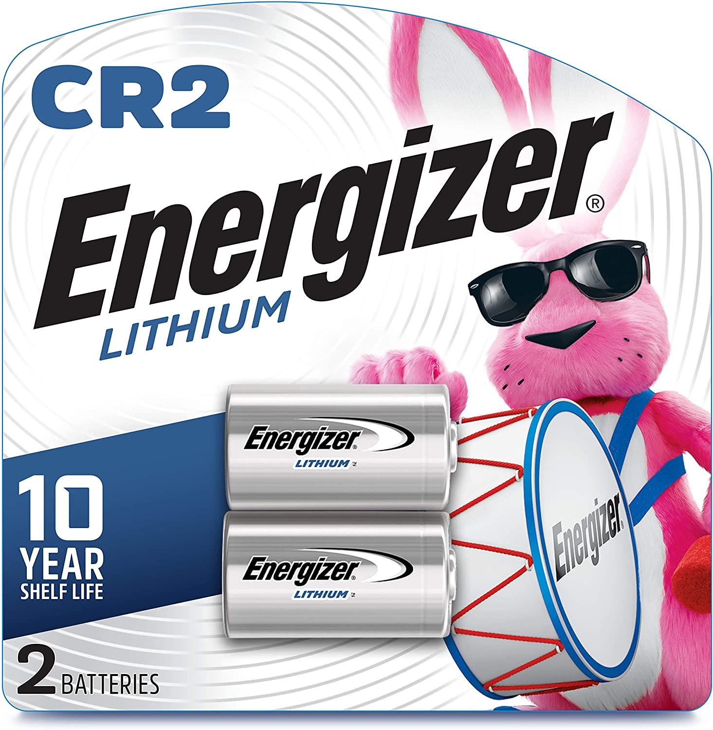 Energizer EL1CRBP-2 3-Volt Lithium Photo Battery (2-Pack)