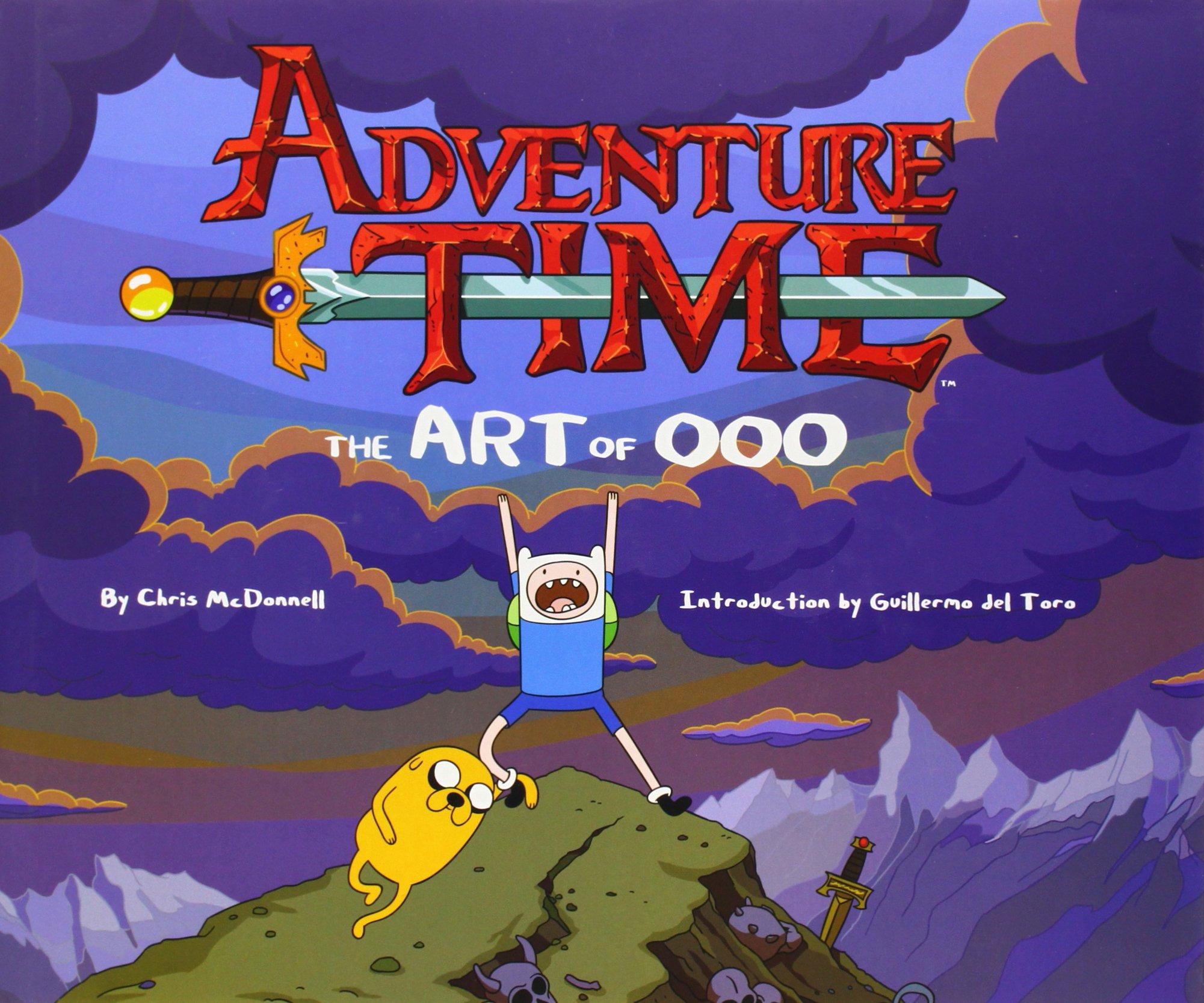 amazon adventure time the art of ooo chris mcdonnell cartoon