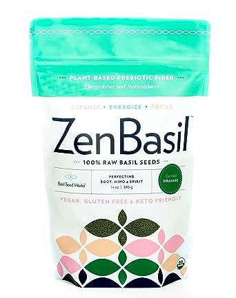 Zen Basil es el único certificado orgánico USDA, semillas de ...