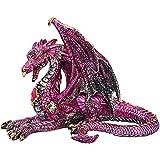Design Toscano The Dragon of Lynton Stowey Statue, Full Color