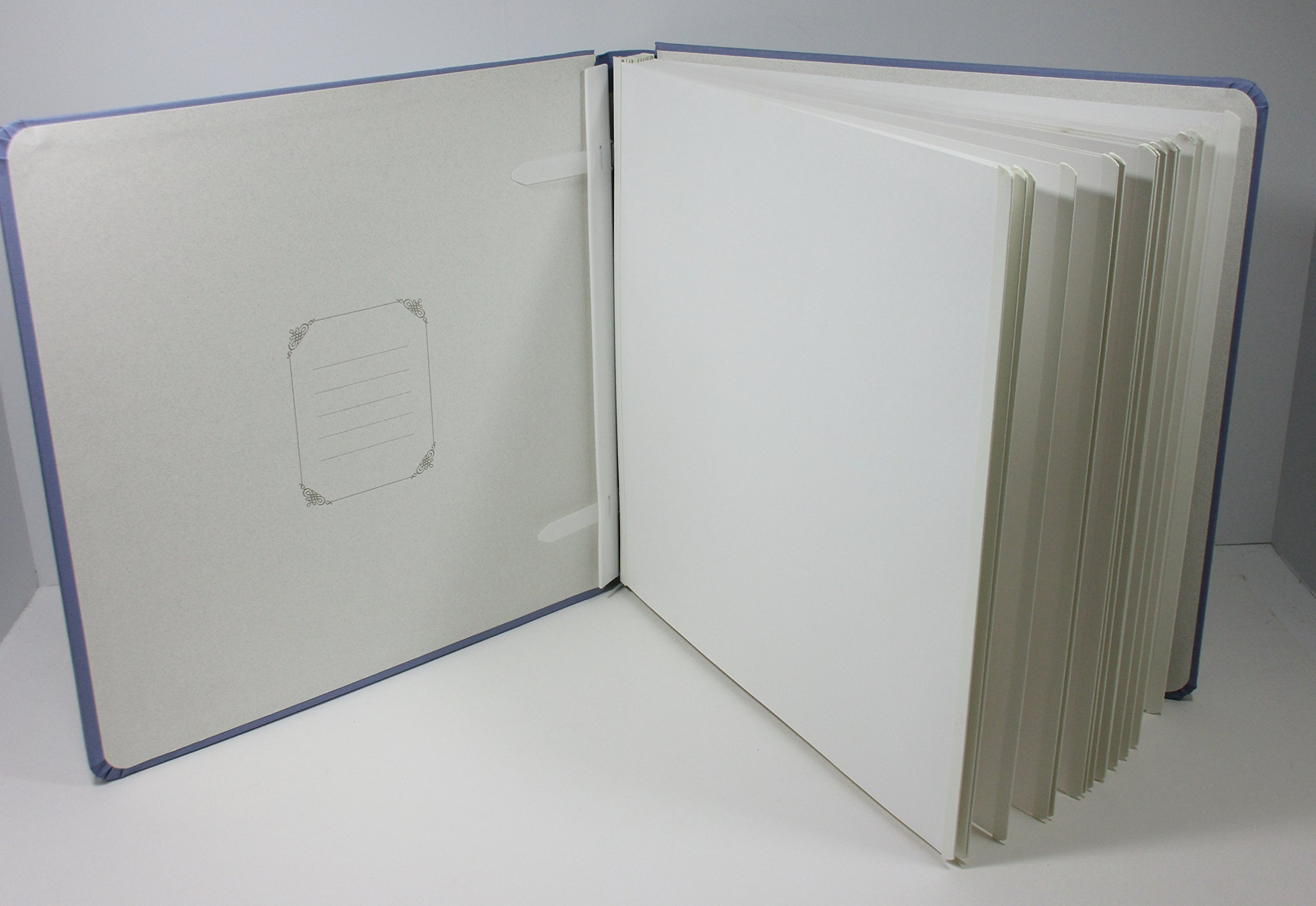 Creative Memories 12x12 Original Tanzanite Lavender Blue Album, (pages inside)