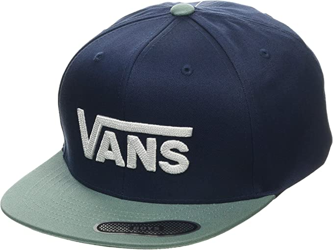Vans by Drop V II Snapback Boys Gorra, Azul (Dress Blue/Oil Blue ...