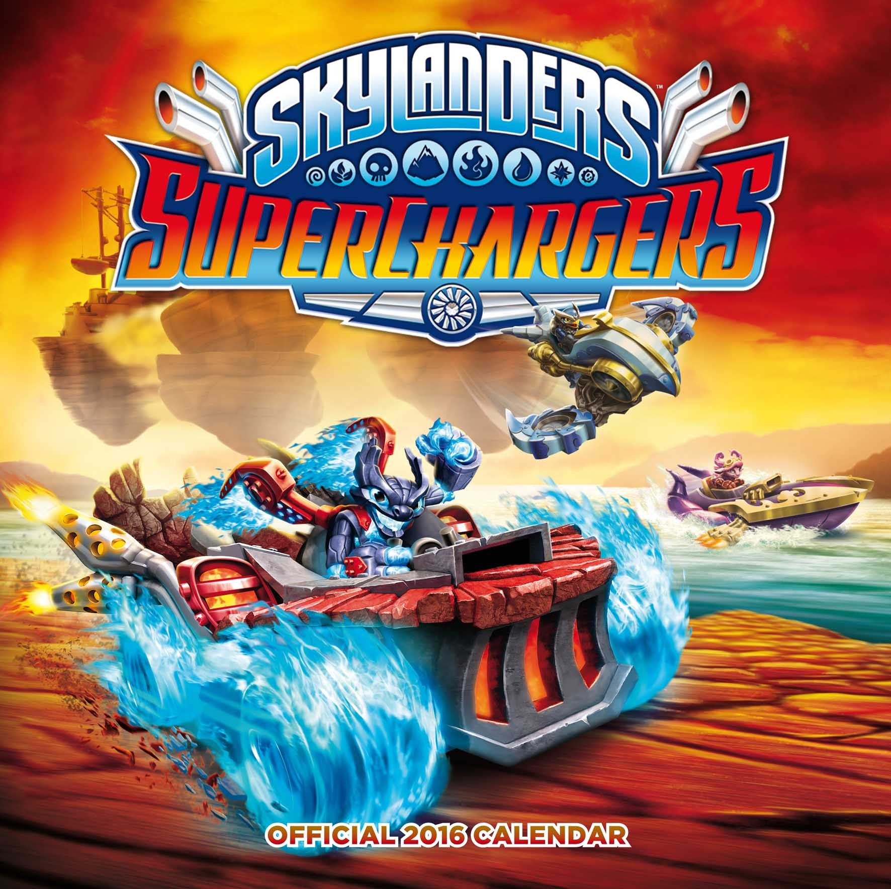 The Official Skylanders 2016 Square Calendar (Calendar 2016)