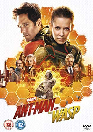 Marvel Studios Ant-Man and the Wasp [DVD] [2018]: Amazon co