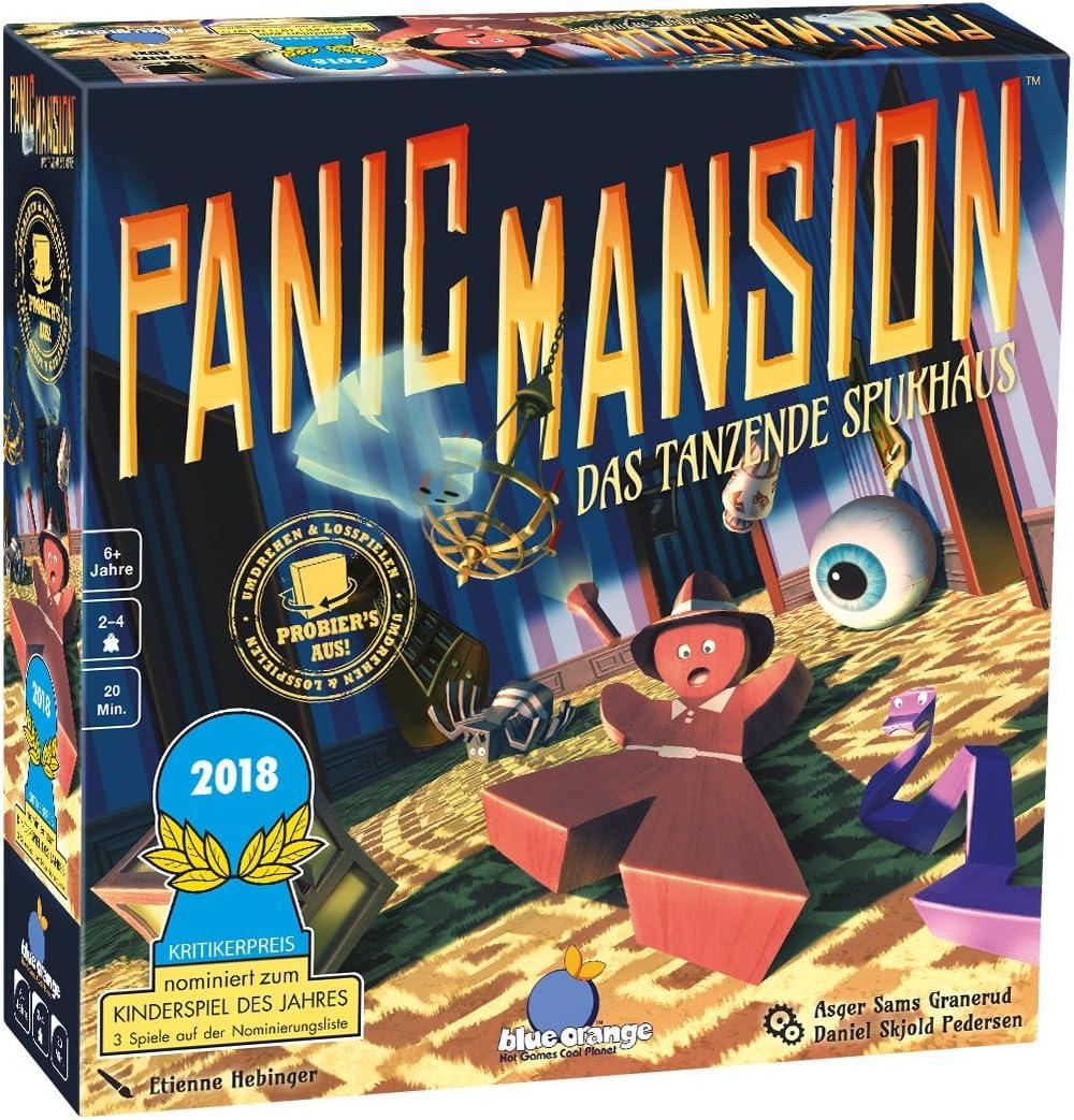 Allemand Jeu dadresse Blue Orange Asmodee Panic Mansion BLO0007