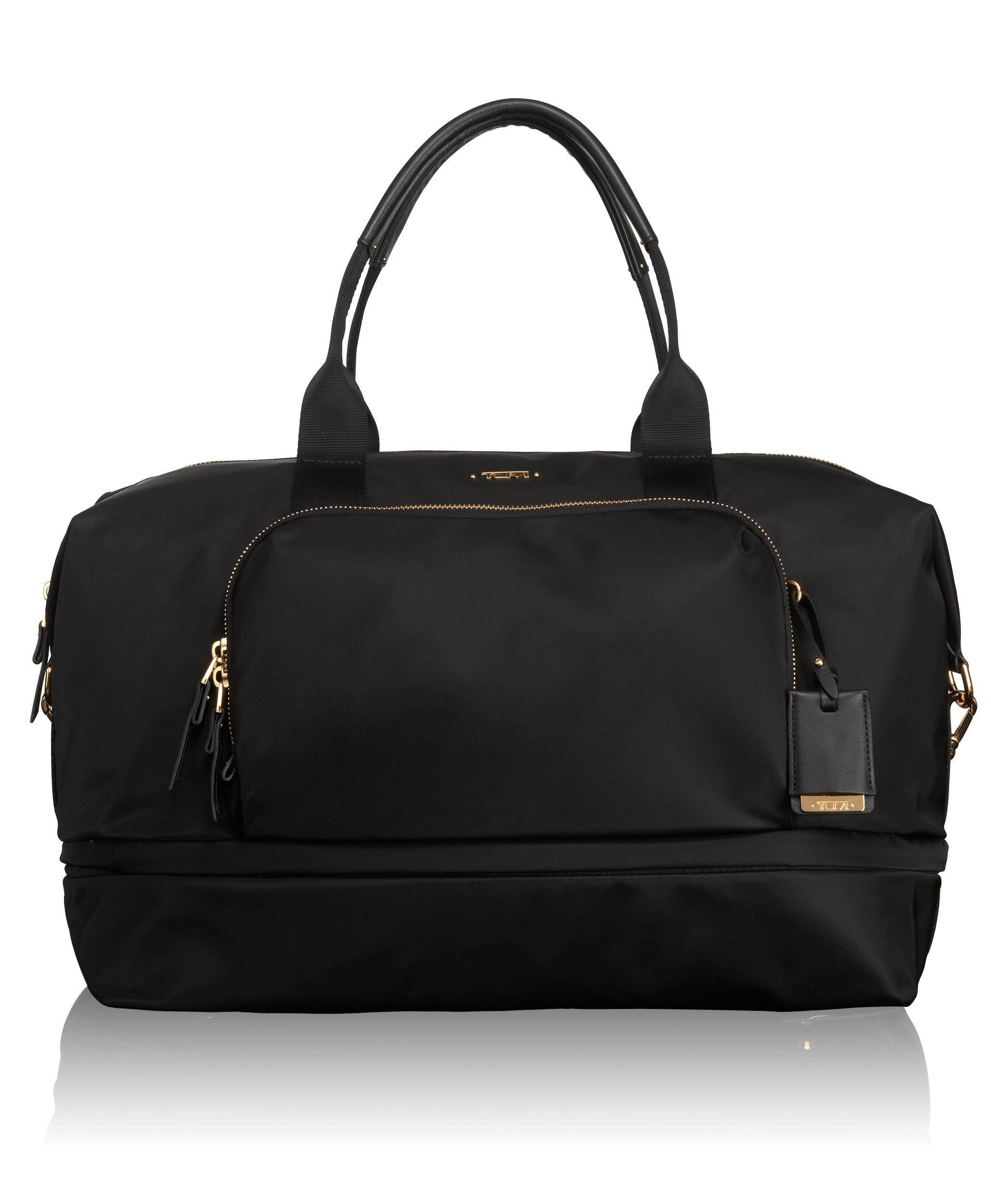 Tumi Voyageur Durban Expandable Duffel, Black, One Size by Tumi