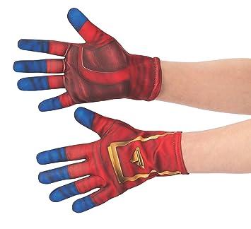 Rubies - Guantes Oficiales del Capitán Marvel, Accesorio de ...