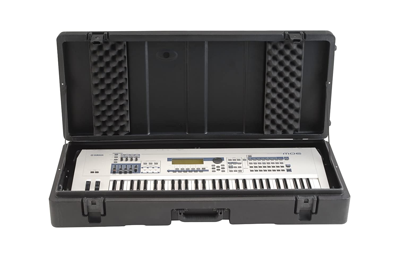 SKB 1SKB-R4215W - Maleta para perfil bajo roto-moldeada con ruedas: Amazon.es: Instrumentos musicales