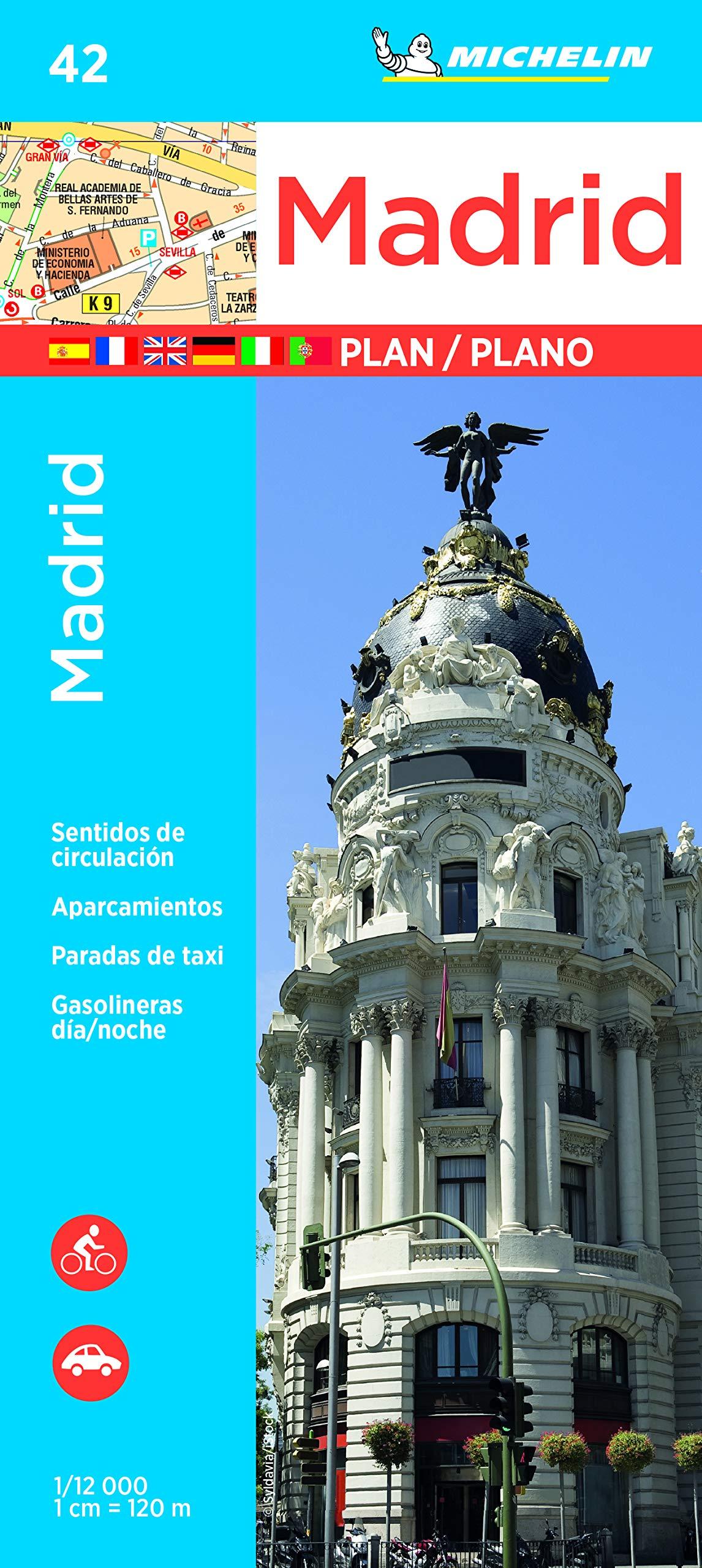 Madrid (Plano) (Planos Michelin): Amazon.es: MICHELIN: Libros