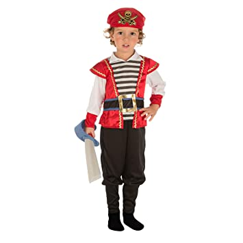 Viving Costumes Disfraz Pirata 3-4 (204075): Amazon.es: Juguetes y ...
