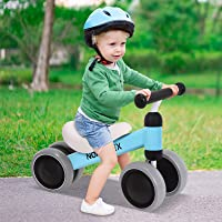 Norflex Kids Balance Bike Ride On Toy Baby Push Bike - Blue