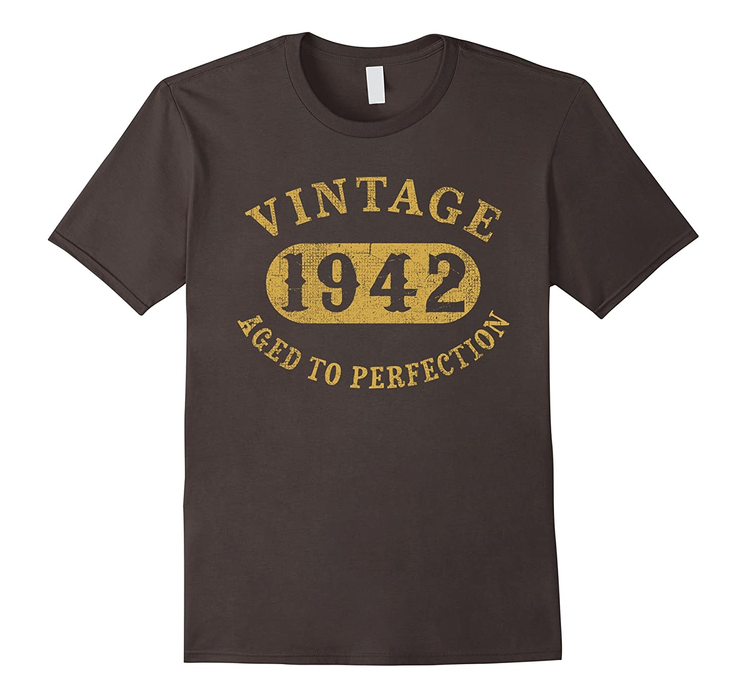 75 years old 75th Birthday B-day Gift Vintage 1942 T-Shirt-RT