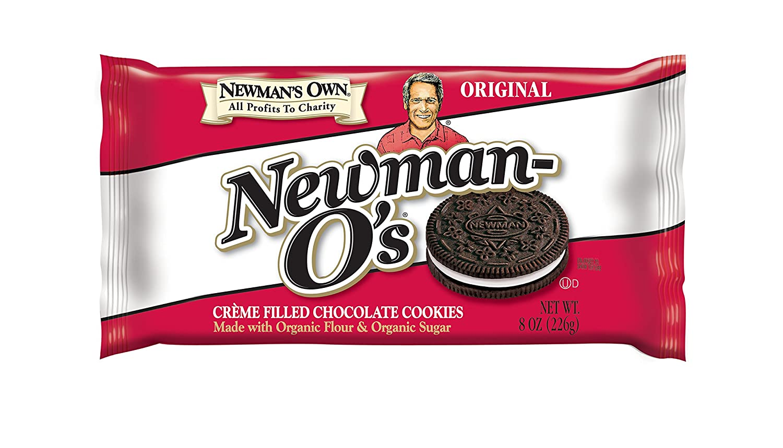 Newman's Own Newman-O's Sandwich Crèmes, Original, 8-oz. (Pack Of 6)